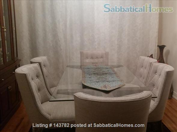 Beautiful Furnished House with 4 bedrooms and 2 bath, Utilities included,  interior parking  Home Rental in Côte Saint-Luc, Quebec, Canada 9