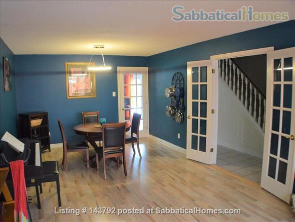 Modern, bohemian three bedroom home, 20 minute walk from Western University Home Rental in London, Ontario, Canada 3