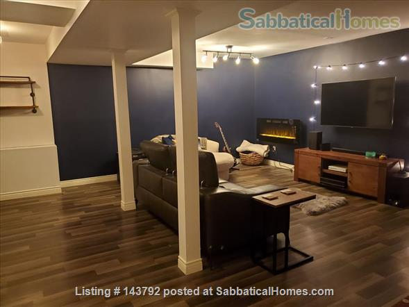 Modern, bohemian three bedroom home, 20 minute walk from Western University Home Rental in London, Ontario, Canada 8