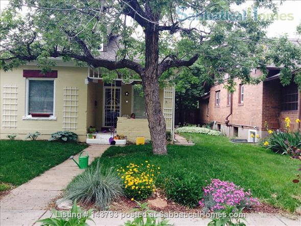 $2,750 /mo Historic 2 BR/1 BA Furnished Platt Park Home with Creativity & Soul  Home Rental in Denver, Colorado, United States 1