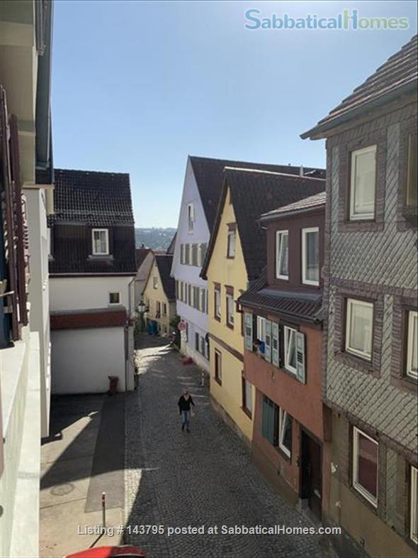 Quiet and Central in Charming Medieval house, with garden and terraces Home Rental in Esslingen am Neckar, BW, Germany 4