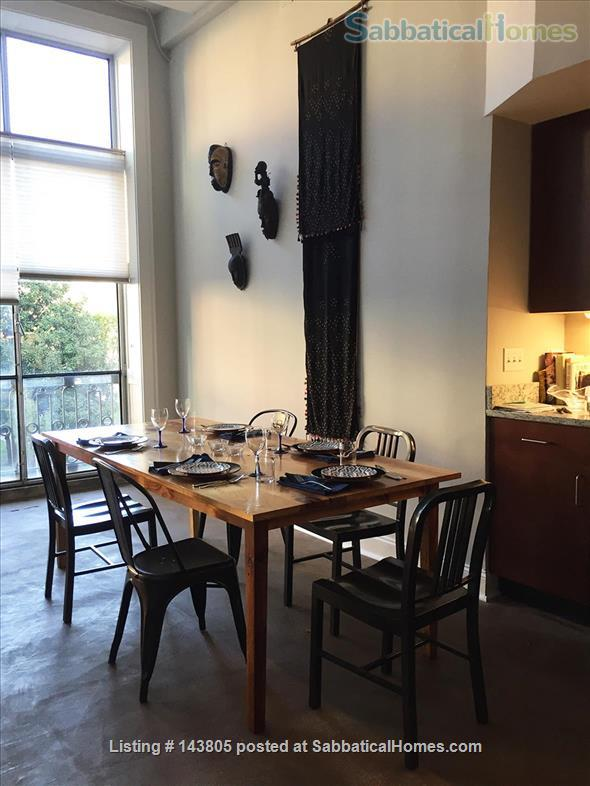Downtown loft in historic building Home Rental in Durham, North Carolina, United States 2