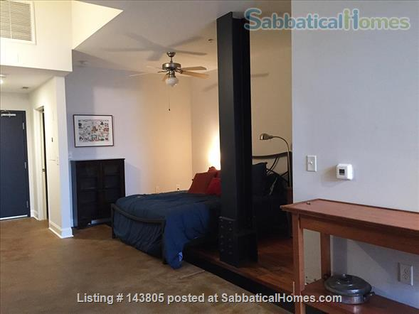 Downtown loft in historic building Home Rental in Durham, North Carolina, United States 4