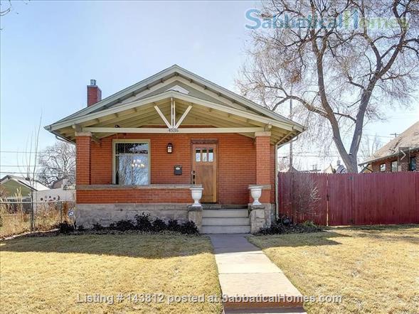 Classic Victorian Bungalow Denver Home Rental in Denver, Colorado, United States 1