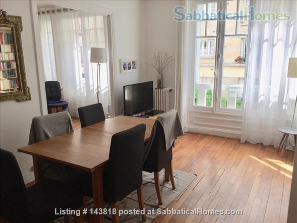 Lovely flat in Paris, perfect for academics with children Home Rental in Paris, Île-de-France, France 1