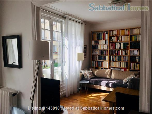Lovely flat in Paris, perfect for academics with children Home Rental in Paris, Île-de-France, France 0