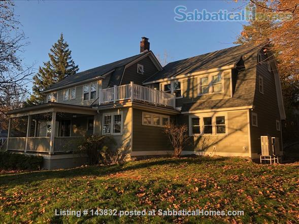 Furnished Home (5Br/3Ba), huge yard, walk to Cornell, Belle Sherman Elem, East Hill Plaza Home Rental in Ithaca, New York, United States 1