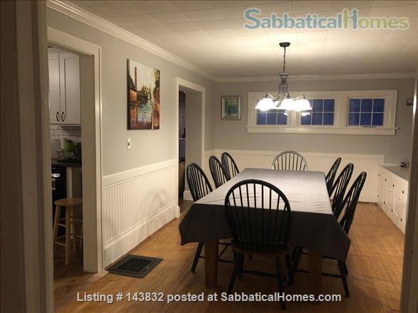 Furnished Home (5Br/3Ba), huge yard, walk to Cornell, Belle Sherman Elem, East Hill Plaza Home Rental in Ithaca, New York, United States 4