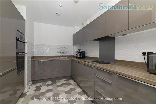 Large and new apartment in a new and young London neighbourhood, 15 minutes from city Centre Home Rental in Walthamstow, England, United Kingdom 1