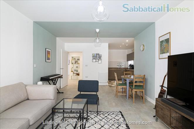 Large and new apartment in a new and young London neighbourhood, 15 minutes from city Centre Home Rental in Walthamstow, England, United Kingdom 0