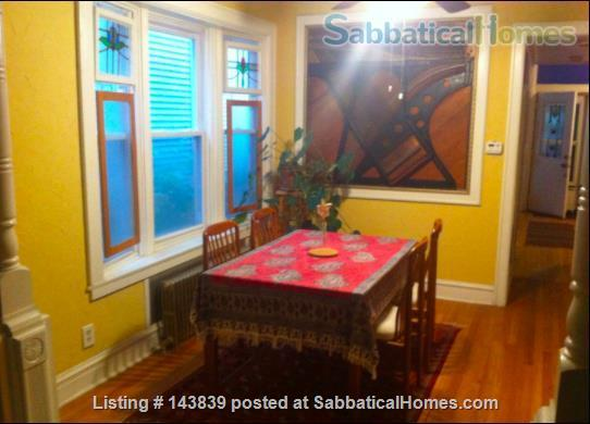 Cute + cozy furnished bungalow - the entire 1st floor is yours Home Rental in Chicago, Illinois, United States 2
