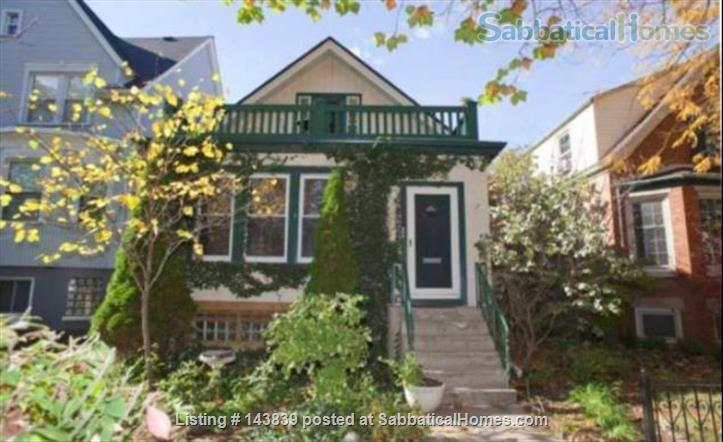 Cute + cozy furnished bungalow - the entire 1st floor is yours Home Rental in Chicago, Illinois, United States 3