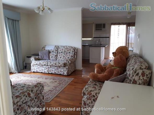 Nice suburb with parks, shops. Furnished 3 bedroom, courtyard. Home Rental in Macleod, Victoria, Australia 0