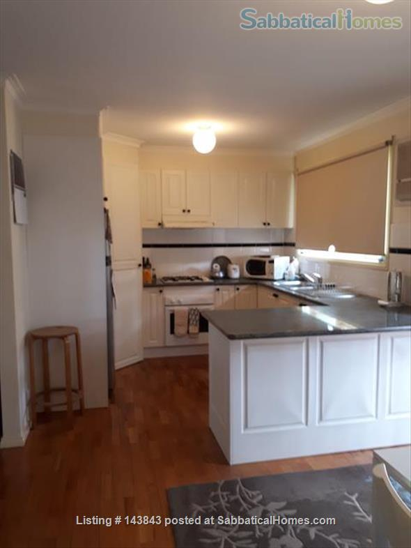 Nice suburb with parks, shops. Furnished 3 bedroom, courtyard. Home Rental in Macleod, Victoria, Australia 2