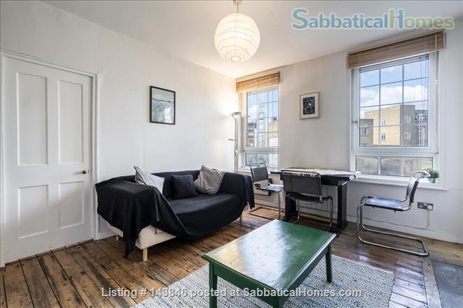 London calling!  Bright, spacious 2 bed character apartment in Docklands Home Rental in Greater London, England, United Kingdom 2