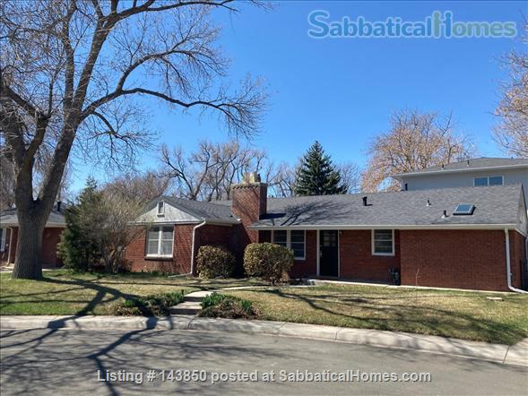 Quiet, sunny, spacious home a half-mile from campus Home Rental in Fort Collins, Colorado, United States 0