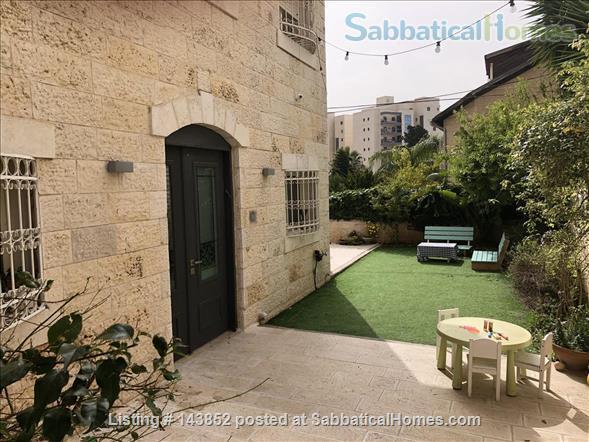 Beautiful Jerusalem Garden Home 4BR Home Rental in Jerusalem, Jerusalem District, Israel 1
