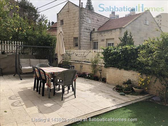 Beautiful Jerusalem Garden Home 4BR Home Rental in Jerusalem, Jerusalem District, Israel 4