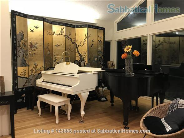 Serene, light-filled  furnished home near Berkeley/SF Home Rental in San Pablo, California, United States 0