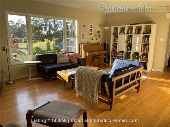 Spacious 4bds/2ba family home in Kensington/Berkeley Home Rental in Kensington, California, United States 3