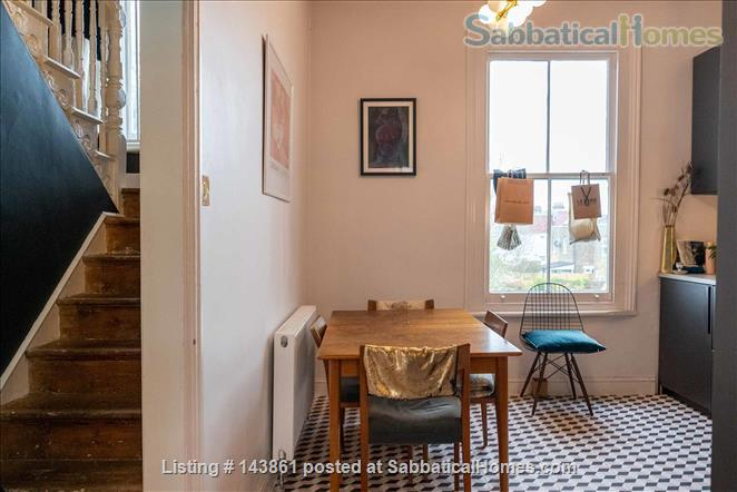 Charming and Unique, 3 Bedroom split level Maisonette with Roof Terrace  in North London 20 Minutes to Central London. All bills and Cleaning included. Home Rental in London, England, United Kingdom 0