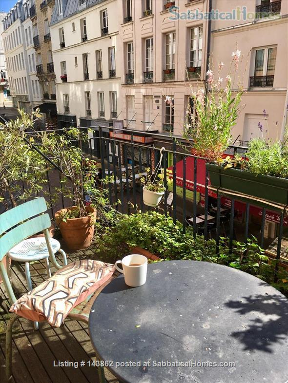 Great apartment in latin quarter with two terraces Home Rental in Paris, Île-de-France, France 1