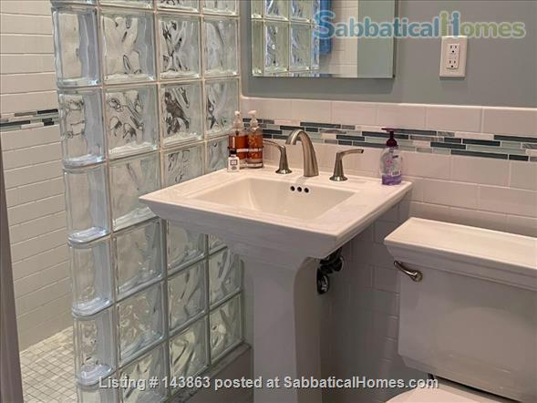 Sunny spacious 4 bed/3 bath condo with 1 parking spot at Coolidge Corner Home Rental in Brookline, Massachusetts, United States 9