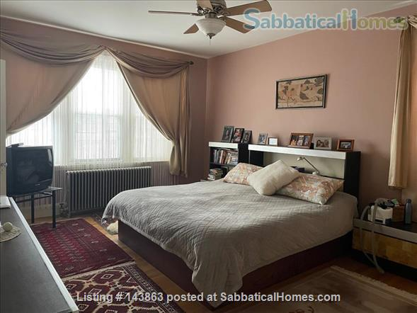Sunny spacious 4 bed/3 bath condo with 1 parking spot at Coolidge Corner Home Rental in Brookline, Massachusetts, United States 3