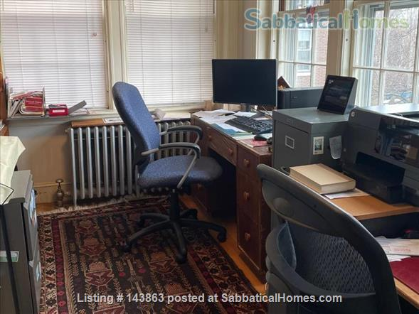Sunny spacious 4 bed/3 bath condo with 1 parking spot at Coolidge Corner Home Rental in Brookline, Massachusetts, United States 7