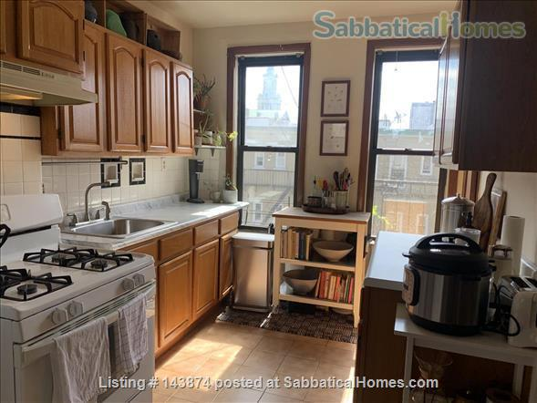 Lots of workspace & windows in Bushwick/Ridgewood Home Rental in Ridgewood, New York, United States 0