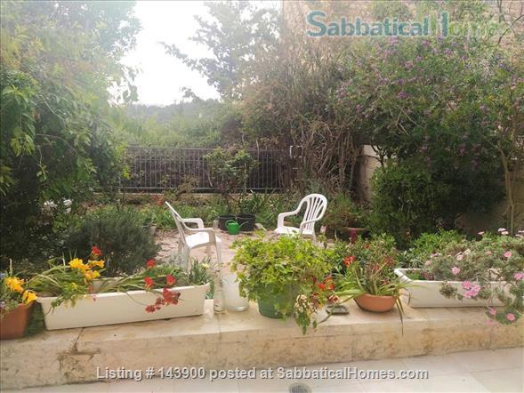 A beautiful garden apartment near the Hebrew University Home Rental in Jerusalem, Jerusalem District, Israel 0