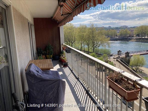 listing image for Great river view apartment for rent in Lyon 4th