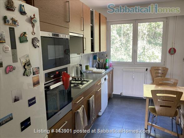Furnished apartment for rent with great river view in Lyon 4th Home Rental in Lyon, Auvergne-Rhône-Alpes, France 4