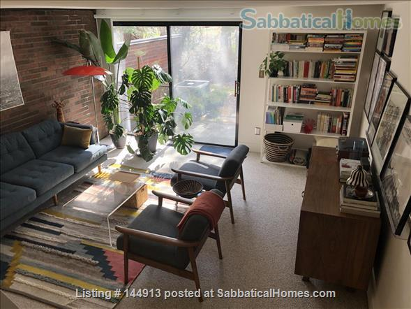 1br + office/guest room mid-century townhouse, furnished Home Rental in State College, Pennsylvania, United States 0