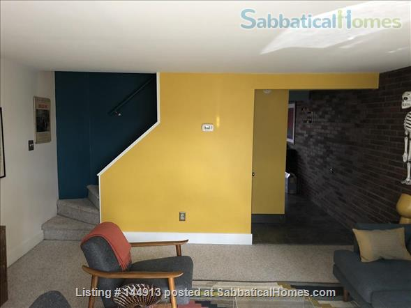 1br + office/guest room mid-century townhouse, furnished Home Rental in State College, Pennsylvania, United States 1