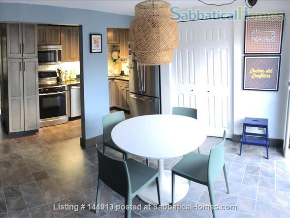 1br + office/guest room mid-century townhouse, furnished Home Rental in State College, Pennsylvania, United States 2