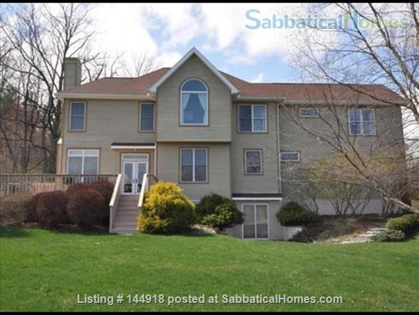 Beautiful FURNISHED large home (5 BDR, 4 BATH)  with in-home gym, playground, expansive views, spacious grounds, Close to both Cayuga Med and Cornell University Home Rental in Ithaca, New York, United States 0