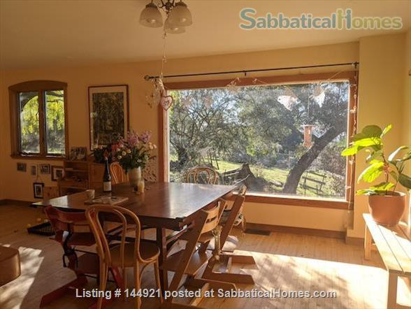 Light-filled, Spacious, Garden-setting Family home with Bay Views Home Rental in El Cerrito, California, United States 1