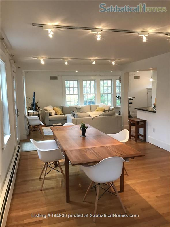 Beautiful 3-BR, 2-bath home near Harvard and Brandeis Home Rental in Belmont, Massachusetts, United States 1