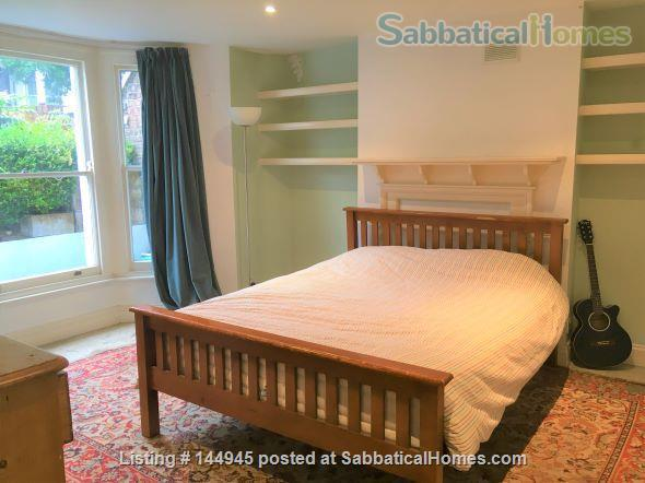 Light and Spacious 3-bed flat  with garden with excellent transport links to Central London Home Rental in Finsbury Park, England, United Kingdom 0