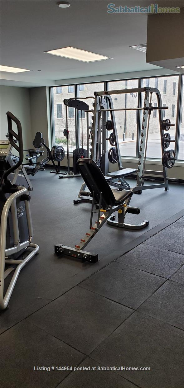 Luxury 2 bed-2 bath Furnished Condo with Underground Parking, Gym Home Rental in Guelph, Ontario, Canada 3