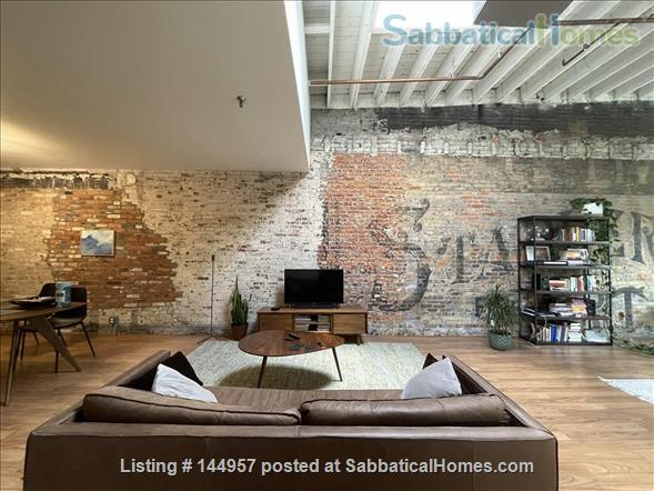 One bedroom airy loft with perfect location in downtown Ann Arbor Home Rental in Ann Arbor, Michigan, United States 1