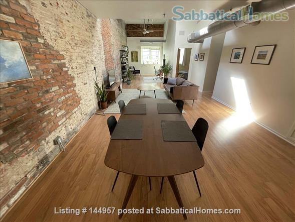 One bedroom airy loft with perfect location in downtown Ann Arbor Home Rental in Ann Arbor, Michigan, United States 0