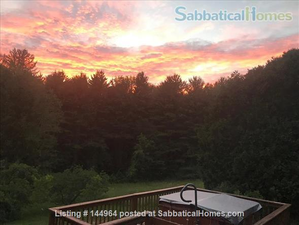 Home in country, near Northampton  and Amherst Mass. Home Rental in Whately, Massachusetts, United States 1