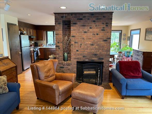 Home in country, near Northampton  and Amherst Mass. Home Rental in Whately, Massachusetts, United States 3