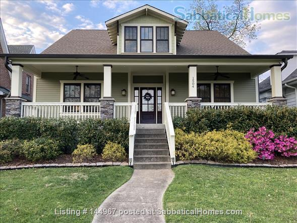4 Bed/3.5 Bath Furnished Home in Vibrant, Walkable Belmont/12South Home Exchange in Nashville, Tennessee, United States 1