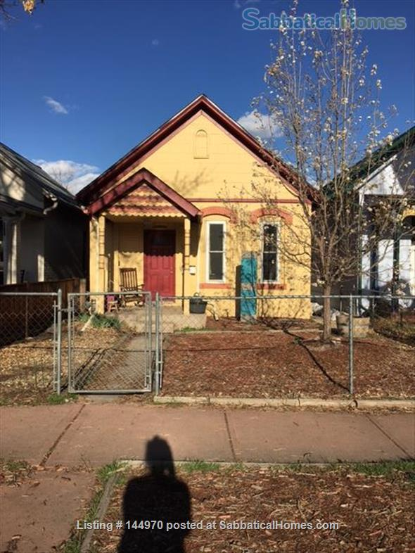 Cozy 2 BR/1 BA Home in Lincoln Park/La Alma Close to Everything Home Rental in Denver, Colorado, United States 1