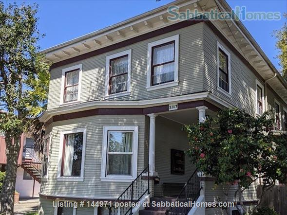 Spacious 4 bd/2 bath Victorian with huge backyard in family-friendly, safe Alameda, minutes to the beach Home Rental in Alameda, California, United States 1