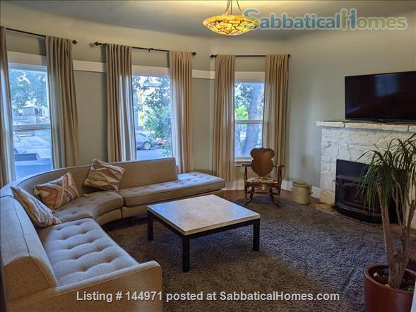 Spacious 4 bd/2 bath Victorian with huge backyard in family-friendly, safe Alameda, minutes to the beach Home Rental in Alameda, California, United States 2