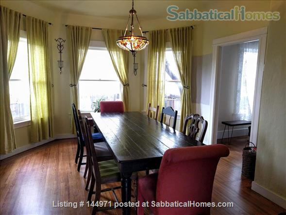 Spacious 4 bd/2 bath Victorian with huge backyard in family-friendly, safe Alameda, minutes to the beach Home Rental in Alameda, California, United States 3